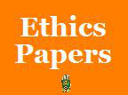 Army ethics thought paper.