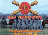 First Sergeant Course, Class- 06-07, Fort Sill, OK.