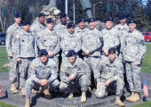 First Sergeant Course, Class-08-07, Fort Lewis, WA.