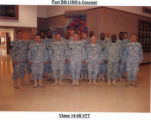 First Sergeant Course, Class-14-06 VTT, Fort Sill.