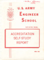 US Army Engineer School- Accreditation Self-study Report, 1975.
