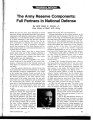 Ralph E. Haines- The Army Reserve Components- article.