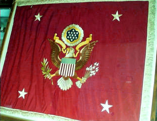 Secretary of War Identification Flag.