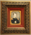 Colonel Henry Leavenworth Miniature Portrait.