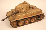 German Panzer Model Tank.