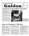 Fort Leonard Wood Guidon. January 10, 1985.