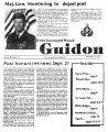 Fort Leonard Wood Guidon. September 12, 1985.