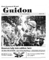 Fort Leonard Wood Guidon. August 22, 1985.