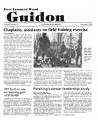 Fort Leonard Wood Guidon. November 07, 1985.