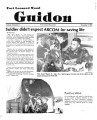 Fort Leonard Wood Guidon. November 01, 1984.