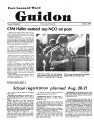 Fort Leonard Wood Guidon.  August 02, 1984.
