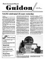 Fort Leonard Wood Guidon. April 05, 1984.