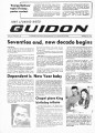 Fort Leonard Wood Guidon. January 10, 1980.