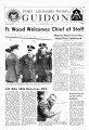 Fort Leonard Wood Guidon. November 14, 1969.