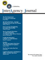 InterAgency journal: the journal of the Simons Center, Vol. 6, Issue 4, Fall 2015.