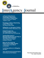 InterAgency Journal: the journal of the Simons Center, Vol. 7, Issue 3, Fall 2016.