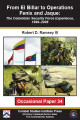 From El Billar to Operations Fenix and Jaque: the Colombian security force experience, 1998-2008.