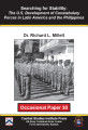 Searching for Stability: The U.S. Development of Constabulary Forces in Latin America and the...