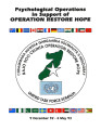 Psychological operations in support of Operation Restore Hope, 9 December 92 – 4 May 93.