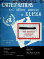 United Nations civil affairs activities in Korea.
