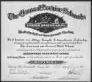 MAJ Dwight Eisenhower's Command and General Staff School Diploma.