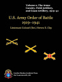 US Army order of battle, 1919-1941 : volume 2.