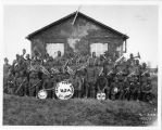 Band photo of Army Post Band, 1st Army.