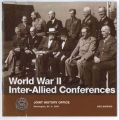 Trident conference, May 1943: papers and minutes of meetings.