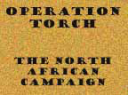 Report of operations in North Africa.